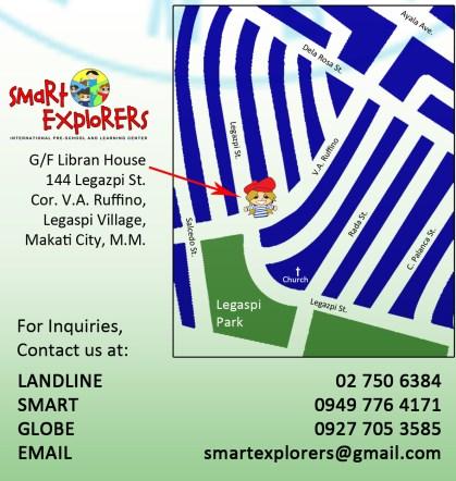 Smart Explorers Preschool - Location Map