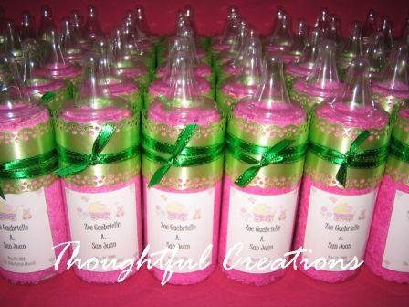 Thoughtful Creations - Baby Bottles with Towels