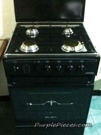 ELBA cooking stove