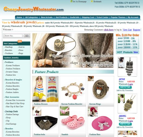 cheap jewelry wholesaler website
