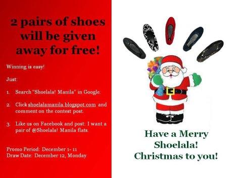 Shoelala Manila Christmas Contest