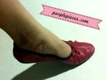 Shoelala Manila Red Ballet Flats Philippines