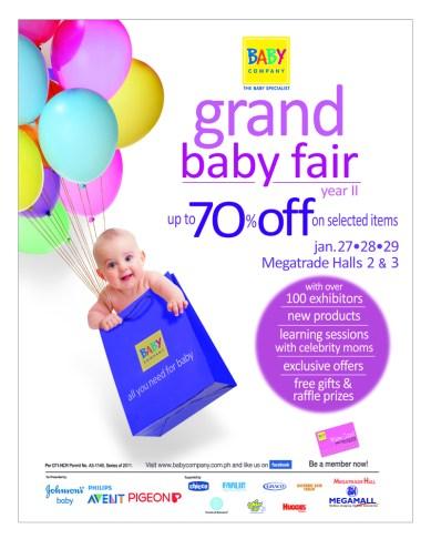 Baby Company Grand Baby Fair 2012