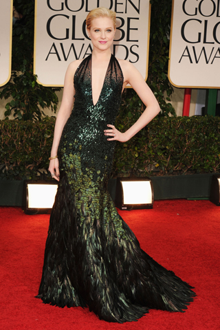 Evan Rachel Wood - Golden Globes 2012