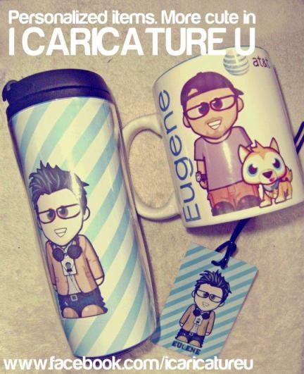 I Caricature U - Personalized Gifts