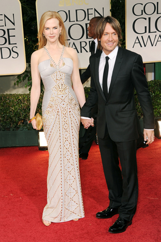 Nicole Kidman - 69th Golden Globe Awards