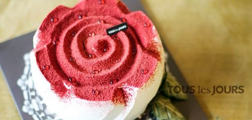 Tous Les Jours - Rose Cake