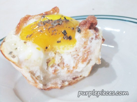Egg and Bacon Pastry
