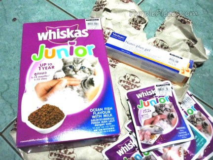 Cat Food - Whiskas Junior