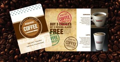 Krispy Kreme Coffee Passport