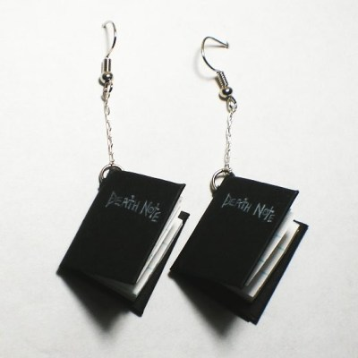 Death Note Earrings - Beileil Etsy Shoppe