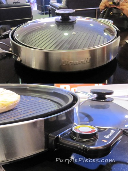 Dowell Grill Express - Electric Indoor Grill Pan