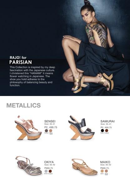 Rajo for Parisian Collection
