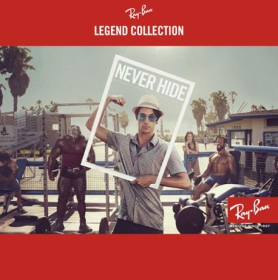 Ray-Ban Legends Never Hide