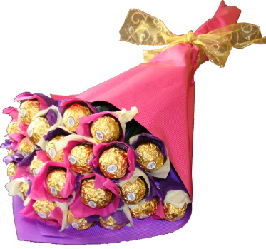 SweetHeart Ferrero Rocher Bouquet