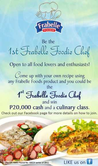 Frabelle Foodie Chef Promo Poster
