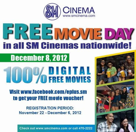 SM Cinema Free Movie Day 2012