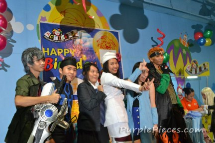Cosplay Birthday Party