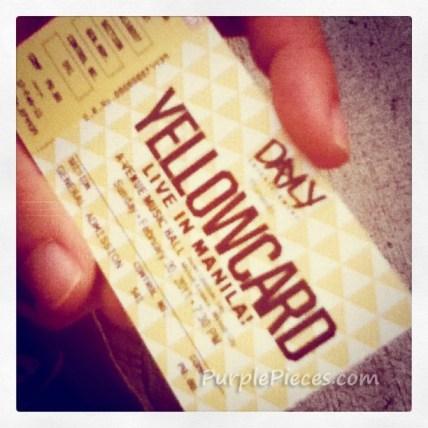 Yellowcard Live in Manila - February 2011