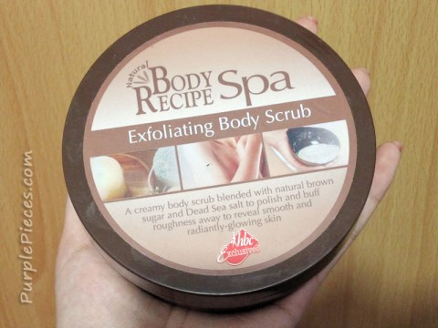 Body Recipe Spa Exfoliating Body Scrub
