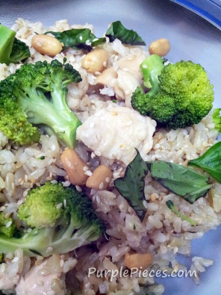 Chicken and brown rice recipe
