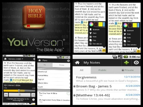 Read the Bible with YouVersion Mobile App