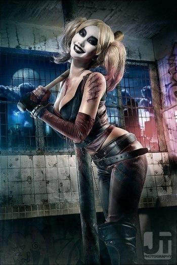 Harley Quinn Cosplay Batman - Alodia Gosiengfiao