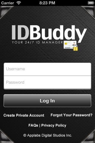 IDBuddy App - ID Manager