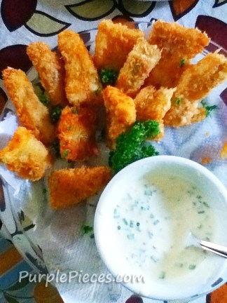 Fish Fillet with Sour Cream Sauce