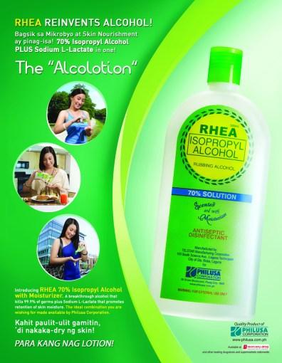 Rhea Rubbing Alcohol Philippines