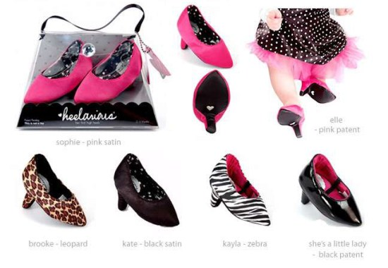 Heelarious Baby High Heels