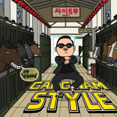 LINE Messaging App PSY Gangnam Style