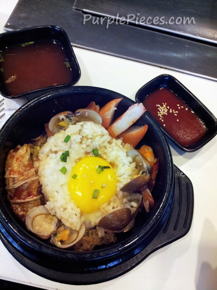 Seafood Bibimbap Seoul Garden