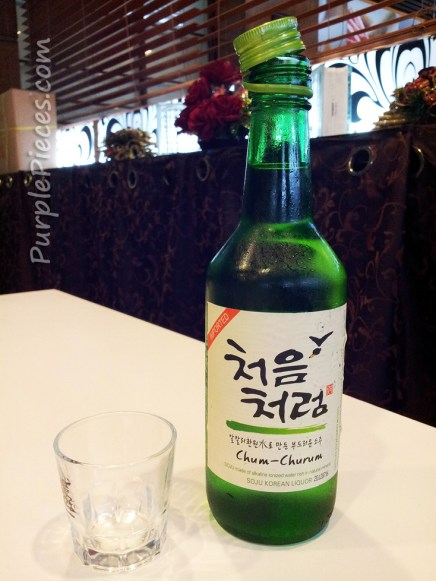 Seoul Garden Korean Restaurant Review - Soju