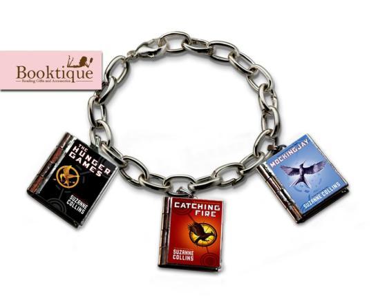 Booktique Book Bracelet - The Hunger Games Trilogy
