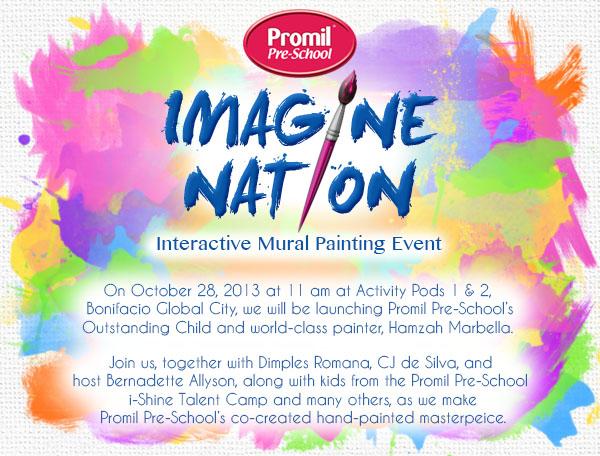 Promil Pre-School Imagine-Nation Event Invite