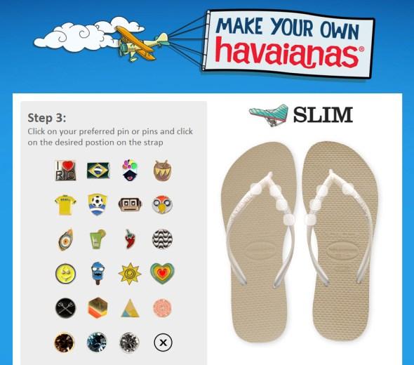 Havaianas Philippines MYOH 2014 Pins