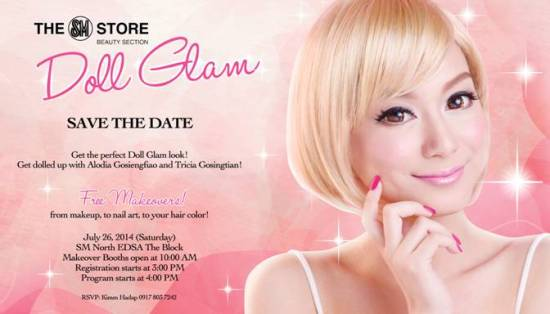 SM Store Beauty Section Doll Glam