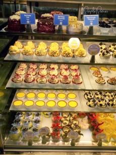 Vanilla Cupcake Bakery Menu