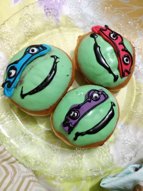 Krispy Kreme Ninja Turtle Donuts