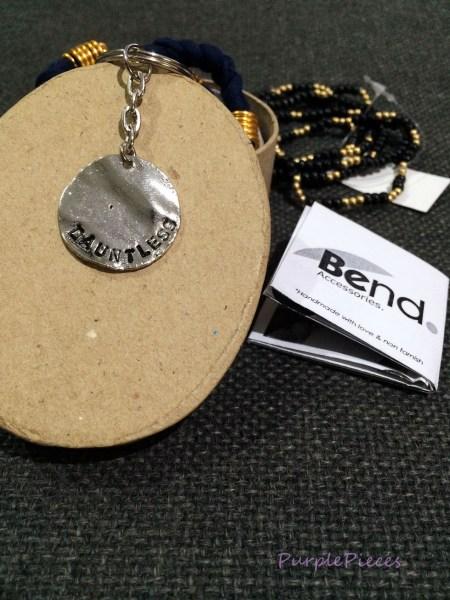Bend Accessories Hand Stamped Keychain
