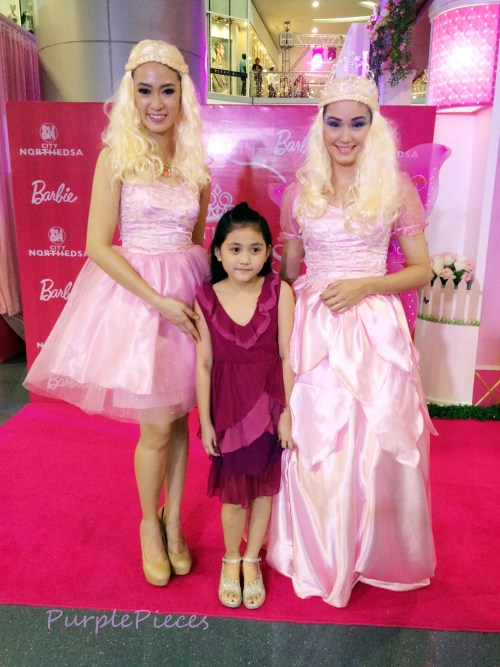 The Princess in Me Barbie Dolls