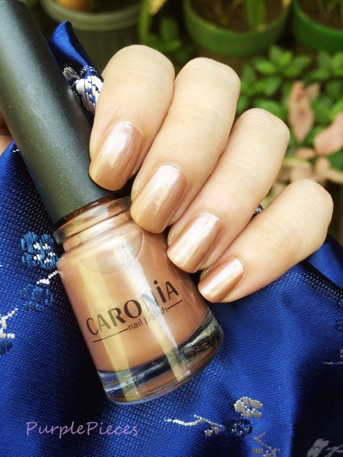 Caronia Rainbow Tan - Brown Nail Polish