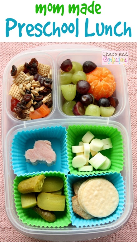 EasyLunchboxes Preschool Lunch