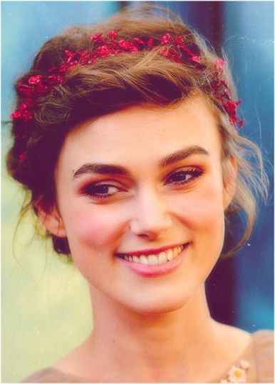 Kiera Knightley - Rosy Cheeks Makeup