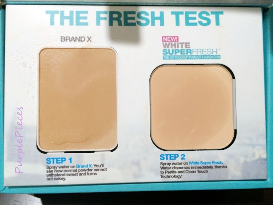Maybelline White Superfresh Powder Review