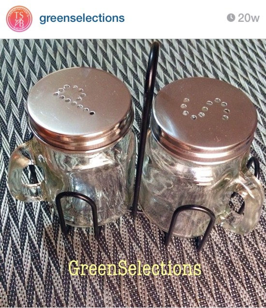 Salt and Pepper Mason Jar Shakers