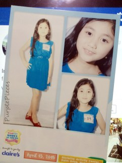 Total Girl Academy 2015 Comp Card