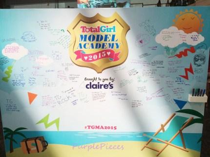 Total Girl Model Academy Wall