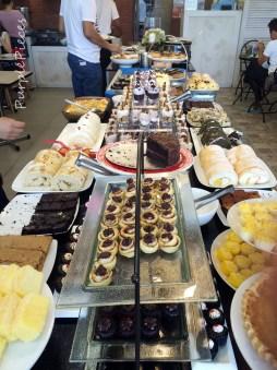 Love Desserts Buffet Table